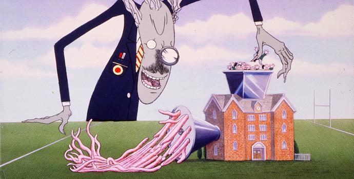 The Wall - Pink Floyd - Avidità e manipolazione