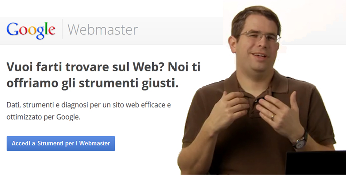 Notifiche web master tools