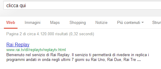 Rai in SERP