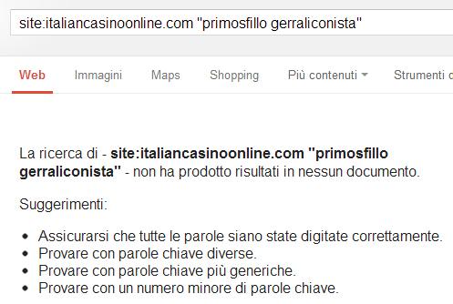 Site italian