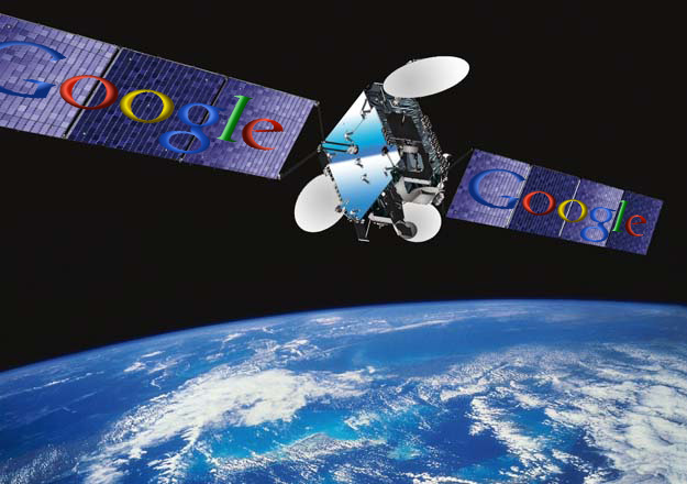 Satelliti Google by gizmodo.fr