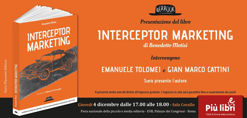 Locandina presentazione Interceptor Marketing