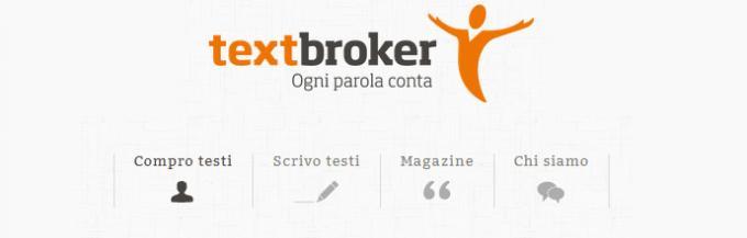 TextBroker sbarca in Italia: contenuti originali con un click